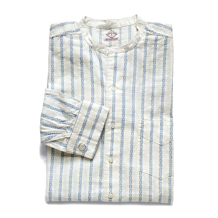 HOME RUN STRIPE COTTON SHIRT( 13 1/2/DEADSTOCK )