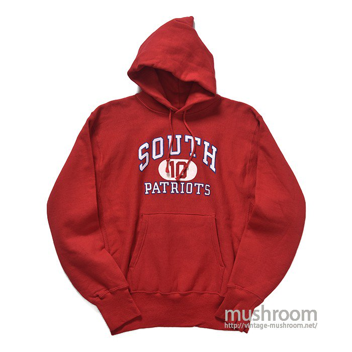 CHAMPION SOUTH PATRIOTS REVERSE WEAVE HOODY( M/ALMOST DEADSTOCK )