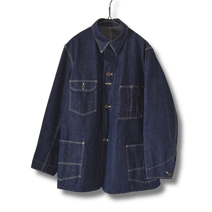 WARDS HOMESTEADER DENIM COVERALL ( DEADSTOCK )