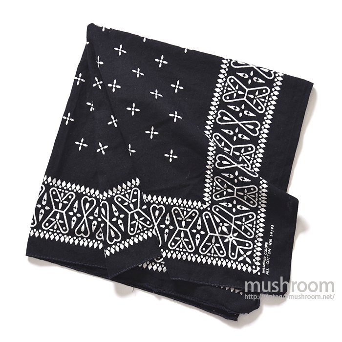 OLD BLACK CROSS BANDANA