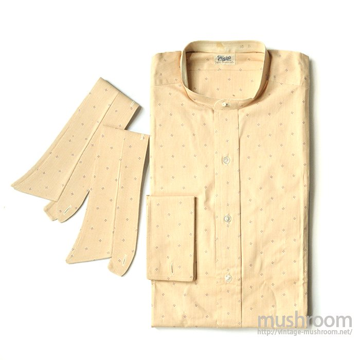The Enro Swastika Pattern Cotton Long Sleeve Shirt( 16/Deadstock)