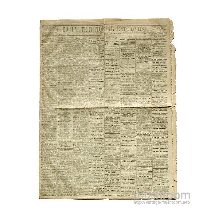 1874's LEVI'S ADVERTISING