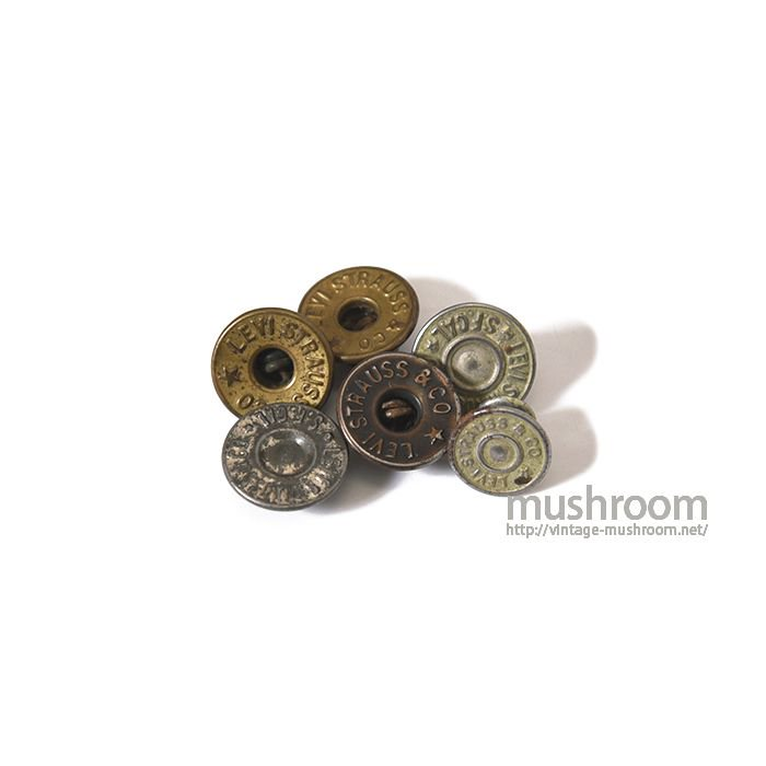 SET OF 6 BUTTONS FOR LEVI'S