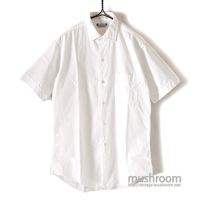OLD S/S WHITE COTTON SHIRT