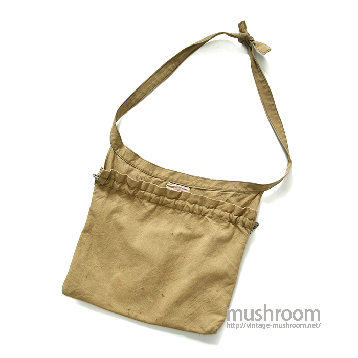 AMERICAN RED CROSS BROWN CANVAS APRON BAG