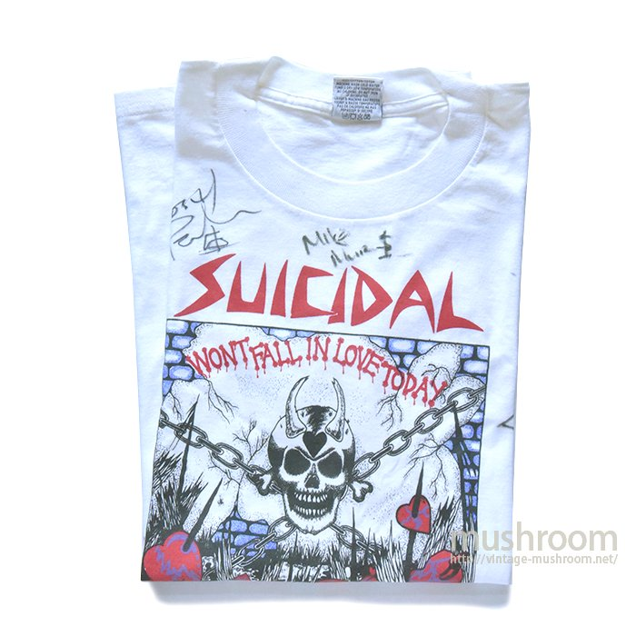 SUICIDAL TENDENCIES  T-SHIRT(L/MINT)