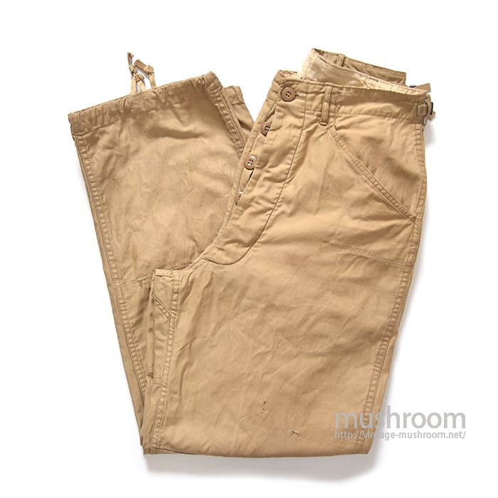 U.S.ARMY QMC EXPERIMENTAL FIELD TROUSER( S-R/MODIFIED )