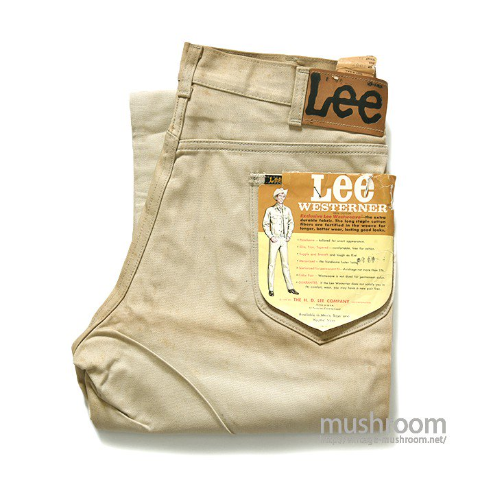 Lee WESTERNER COTTON PANTS( W33L29/DEADSTOCK )