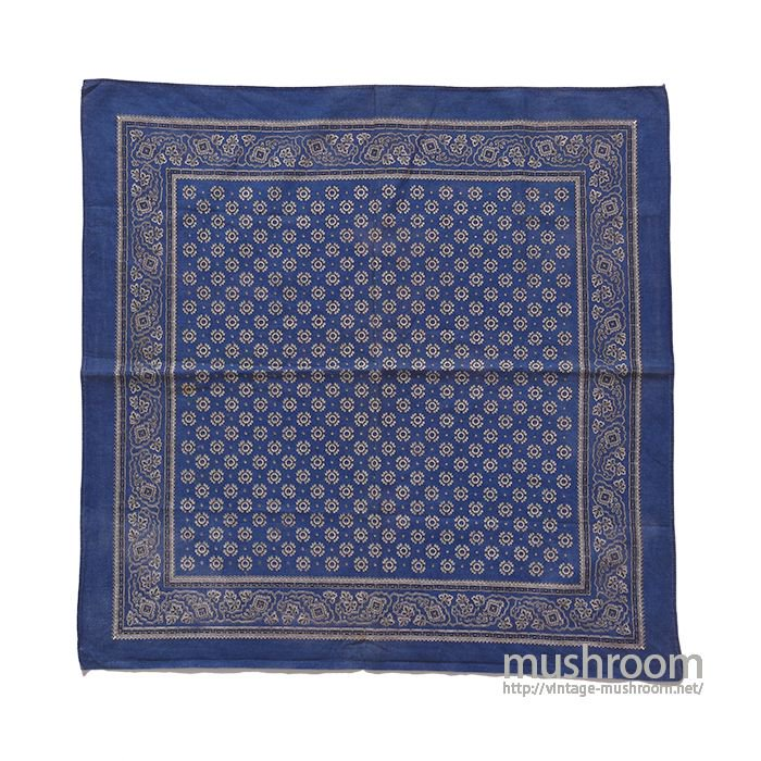 OLD INDIGO COLOR BANDANA