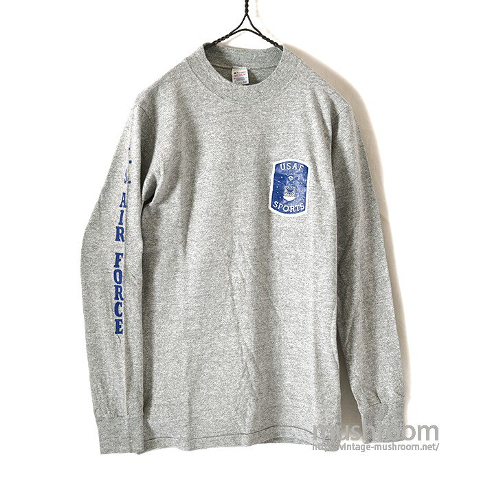 CHAMPION USAF SPORTS L/S T-SHIRT( M/MINT )