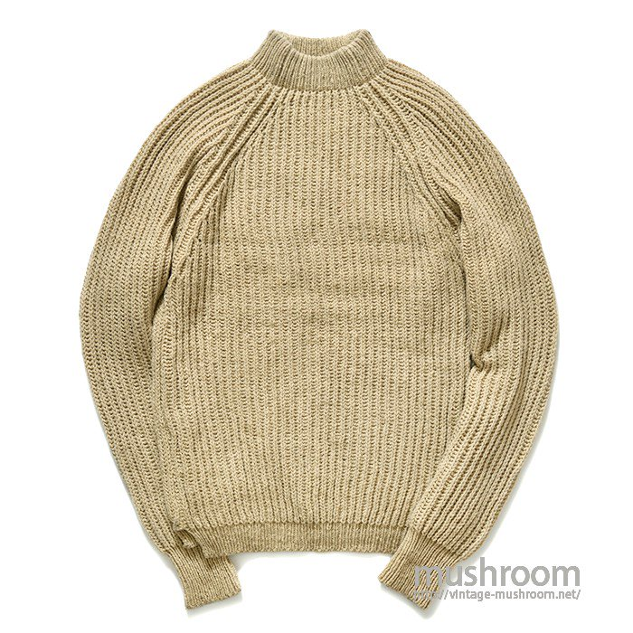 OLD OILED WOOL SWEATER