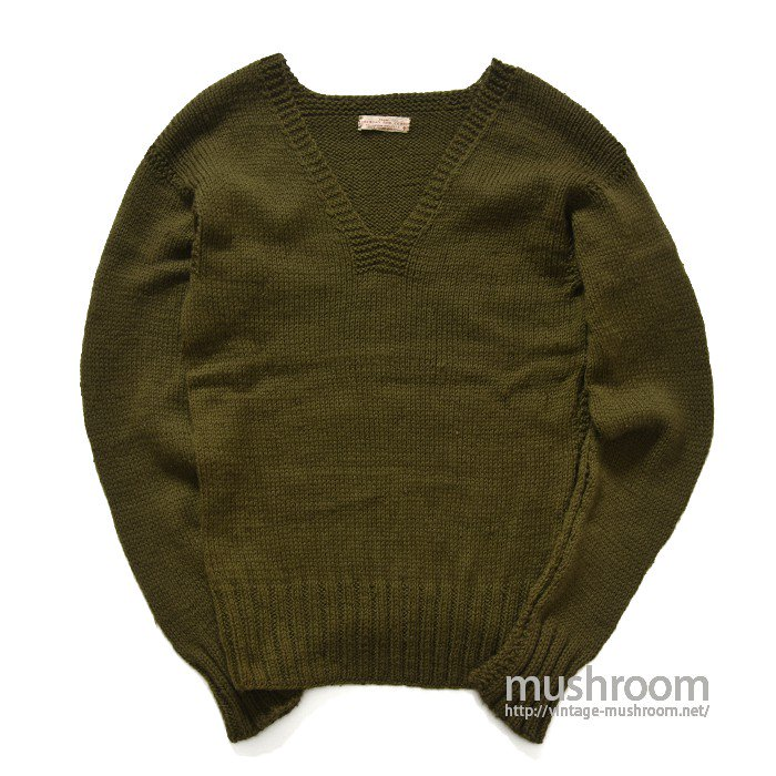 WW2 AMERICAN RED CROSS V-NECK SWEATER