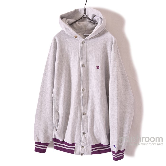 CHAMPION REVERSE WEAVE SNAP-BUTTON HOODY