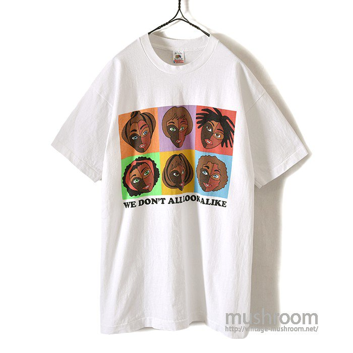 WE DON'T ALL LOOK ALIKE T-SHIRT