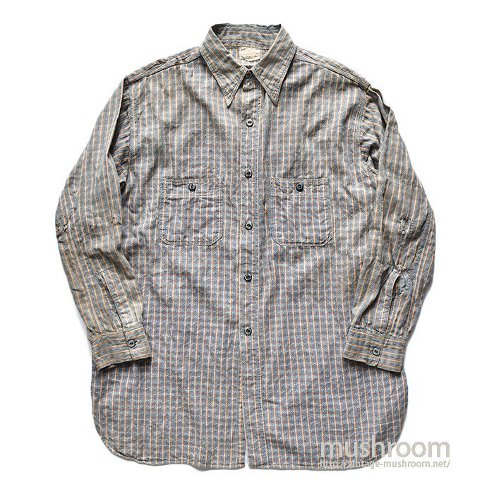 VIKING DOBBY-STRIPE WORK SHIRT