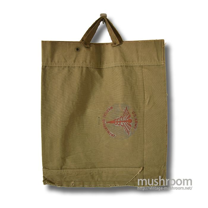 U.S.MILITARY RE-MAKE TOTE CANVAS BAG