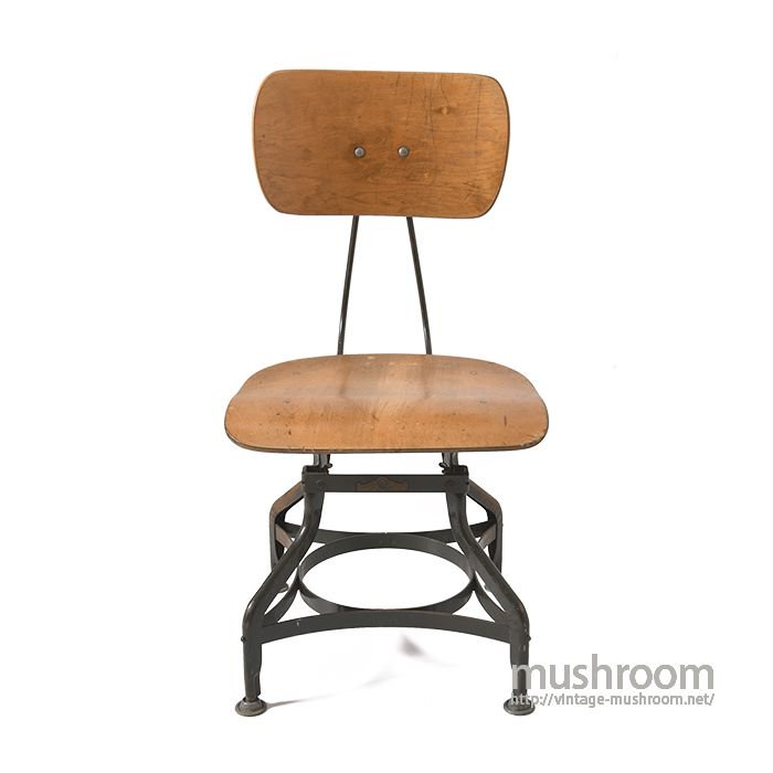 UHL ART STEEL FURNITURE INDUSTRIAL WOOD STOOL