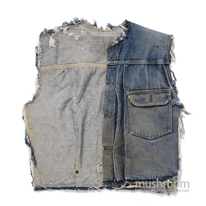 LEVI'S 506XX DENIM SCRAP