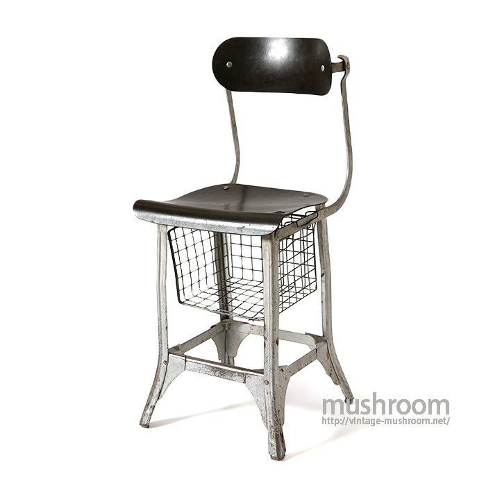 SILVER KING INDUSTRIAL METAL STOOL