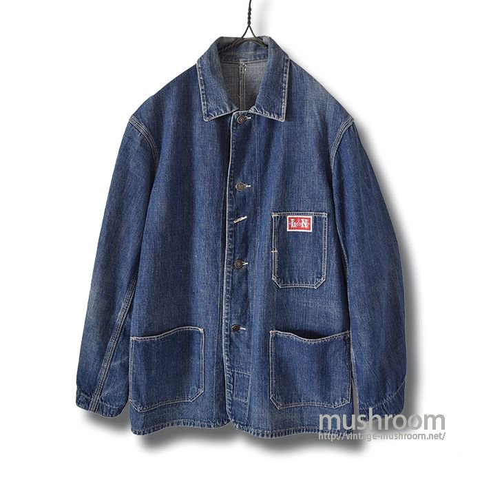 L&N RAILROAD DENIM JACKET