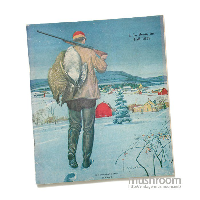 L.L.BEAN 1959 FALL CATALOG