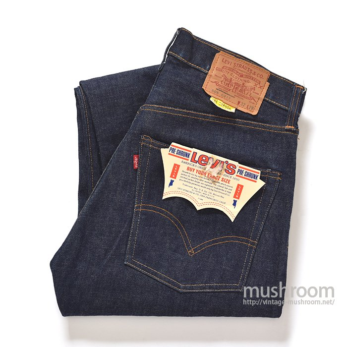 LEVI'S 505SS JEANS( W32L28/ONE-WASHED )