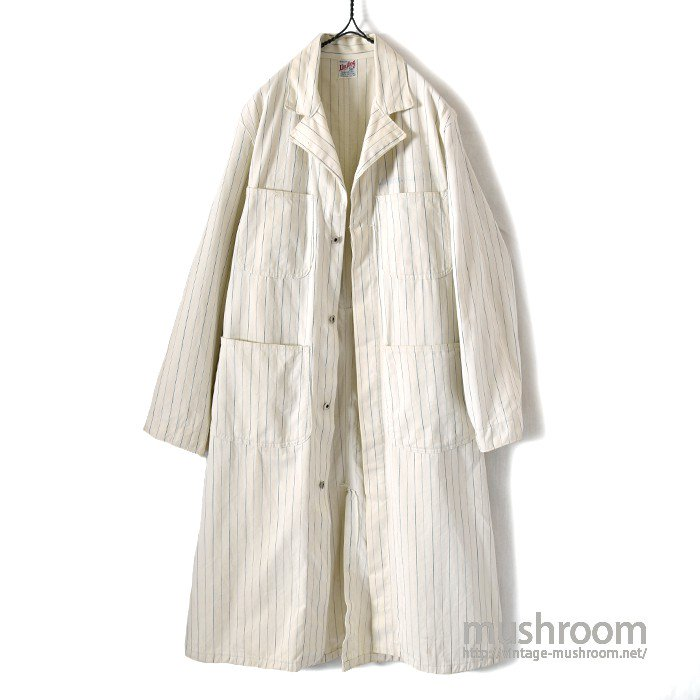 UNITOG UNUSUAL STRIPE SHOP COAT