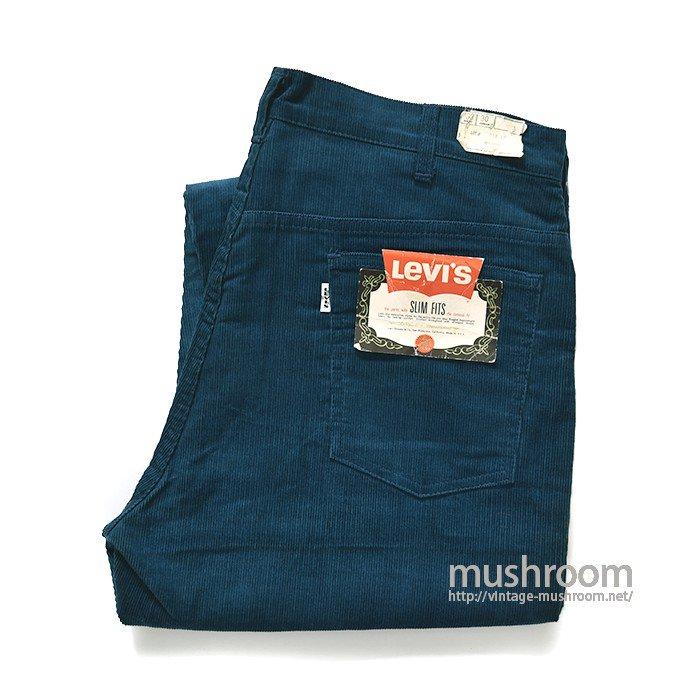LEVI'S 518E BLUE CORDUROY PANTS( W38/L30/DEADSTOCK )
