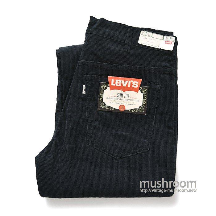 LEVI'S 518E NAVY CORDUROY PANTS( W32/L32/DEADSTOCK )