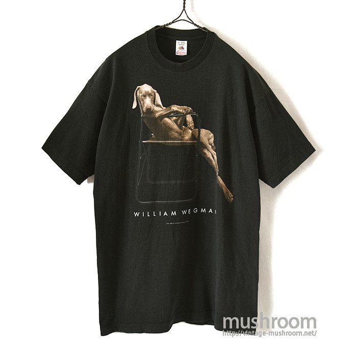 WILLIAM WEGMAN ART T-SHIRT