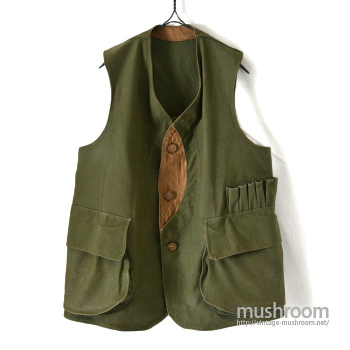 OLD CANVAS HUNTING VEST