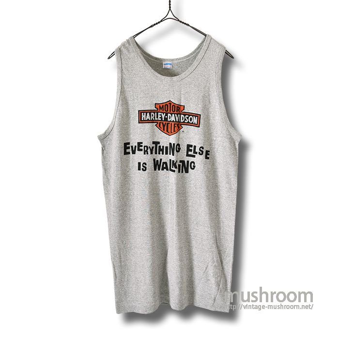 HARLEY-DAVIDSON TANK TOP(XL/MINT)