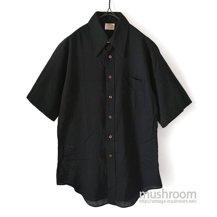 McGREGOR BLACK S/S SHIRT