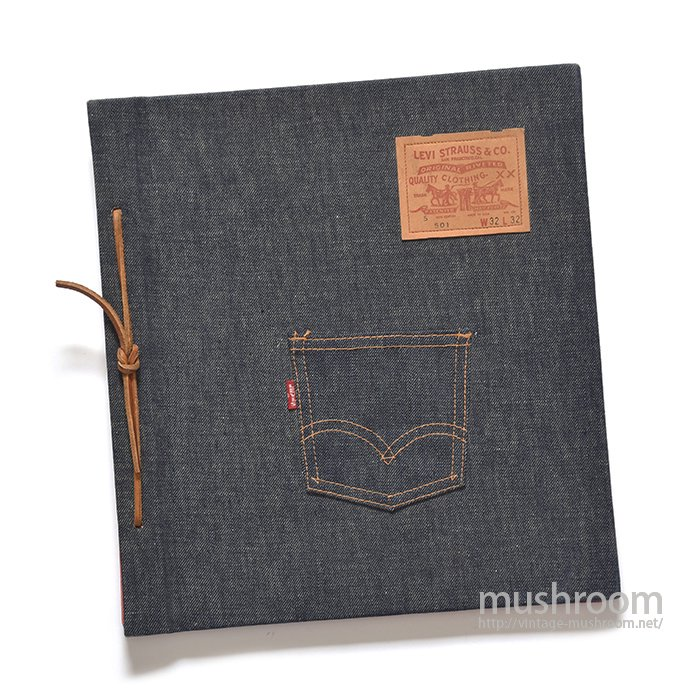 LEVI'S BIGE STYPE DENIM BINDER(DEADSTOCK)