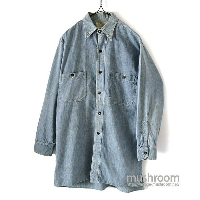 REGENT CHAMBRAY WORK SHIRT