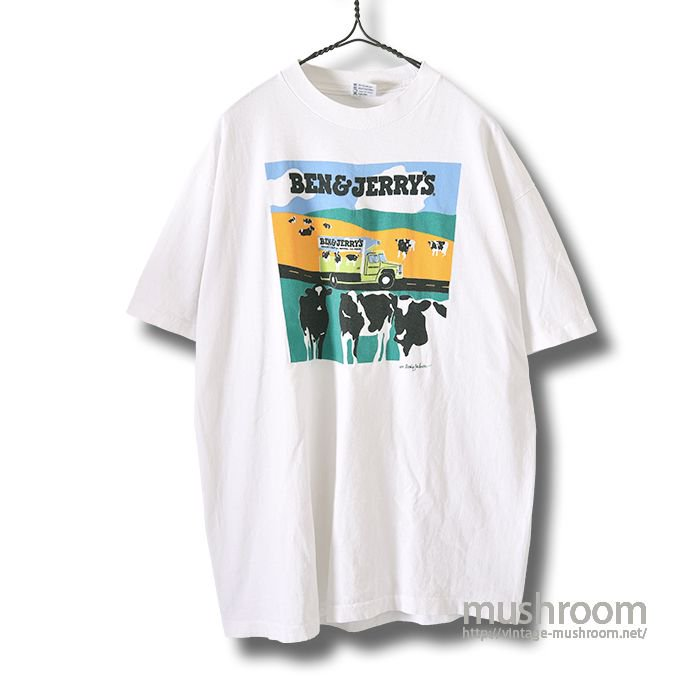 BEN&JERRY'S ADVERTISING T-SHIRT