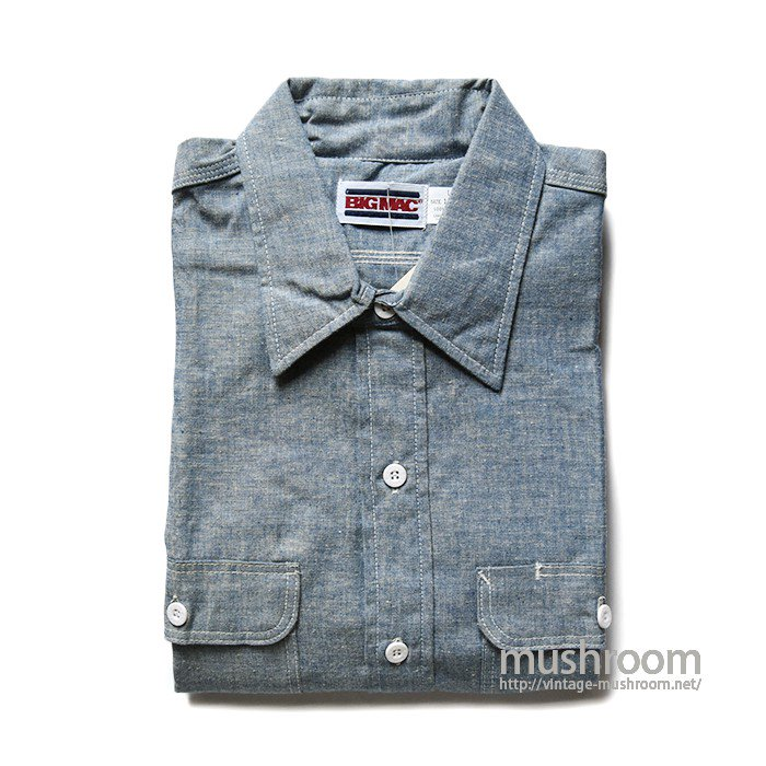 BIG MAC CHAMBRAY WORK SHIRT(DEADSTOCK)