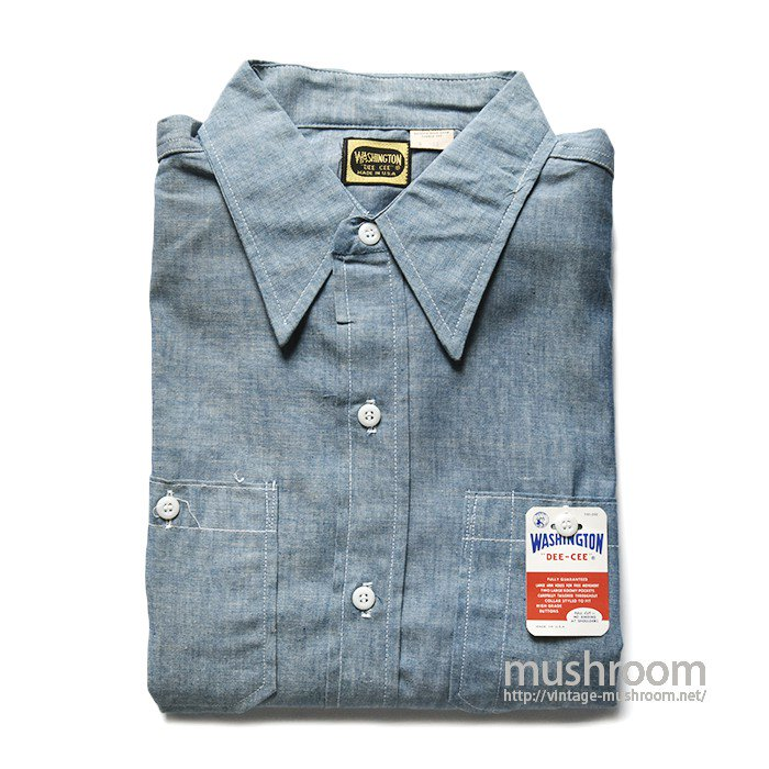 DEECEE CHAMBRAY WORK SHIRT(DEADSTOCK)