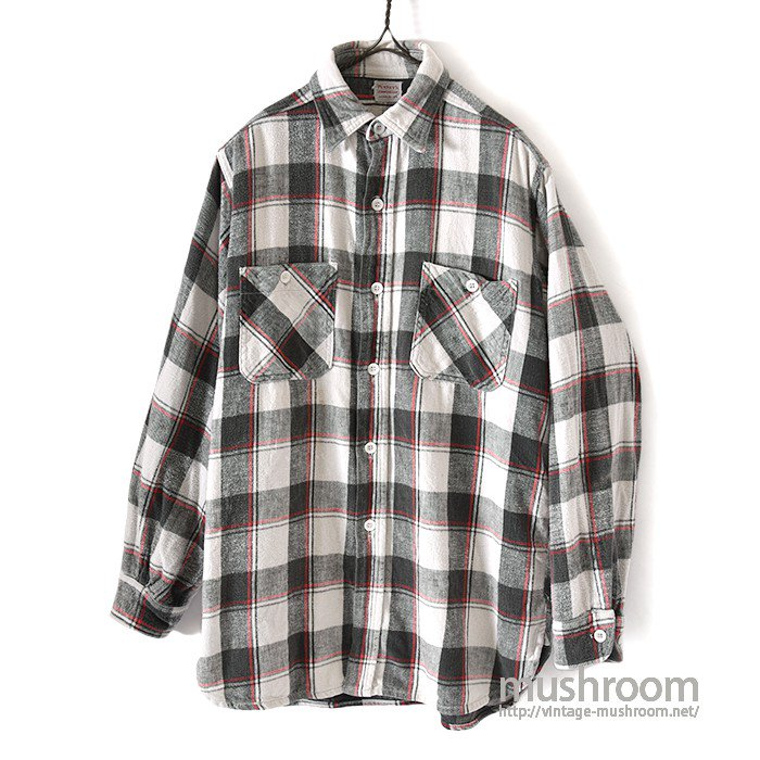 PENNEY'S PLAID FLANNEL SHIRT