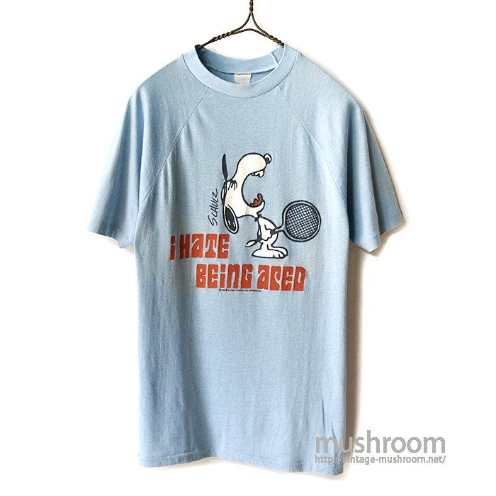 OLD SNOOPY T-SHIRT