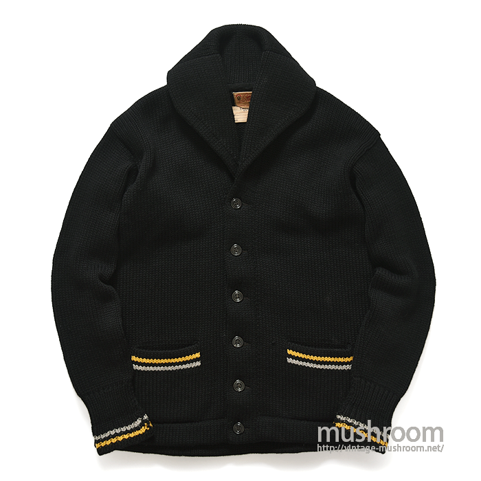 USMA WEST POINT CADET SHAWLCOLLER CARDIGAN( MAYBE..DEADSTOCK )