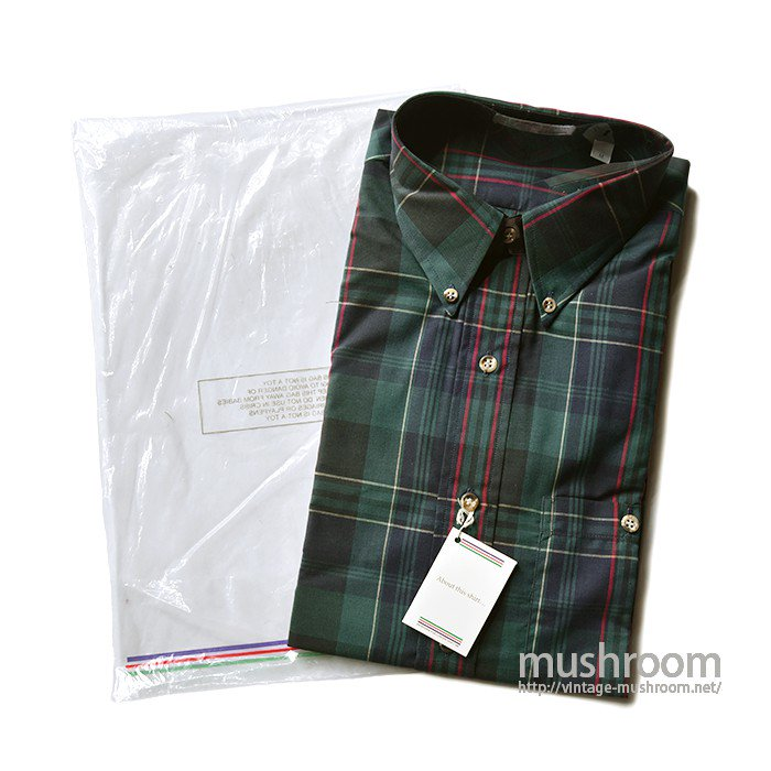 THE HOLBROOK PLAID BD SHIRT(M/DEADSTOCK)