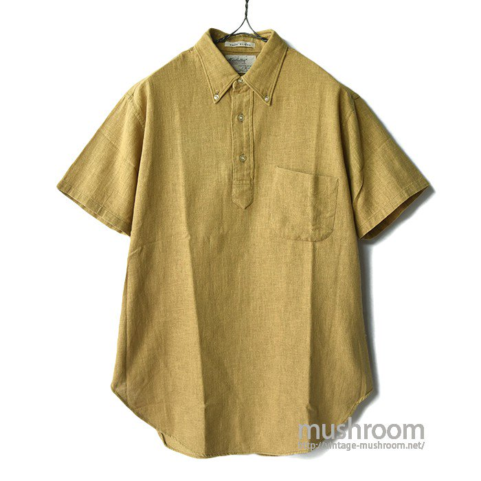 MANHATTAN SACK CLOTH S/S BD SHIRT(M/MINT)