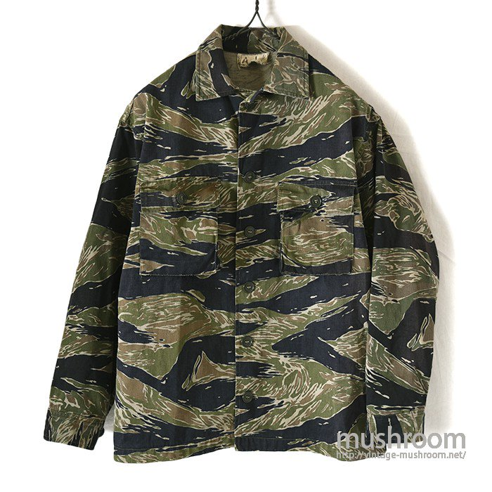 VIET-NAM TIGER STRIPE COTTON UTILITY JACKET