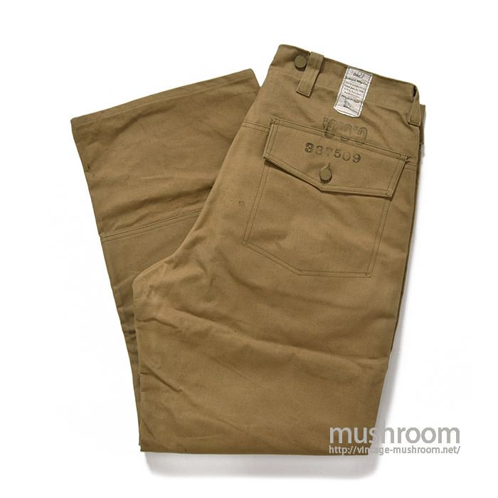 C.C.C BY U.S.MILITARY LOGGER PANTS( 34-30/DEADSTOCK)