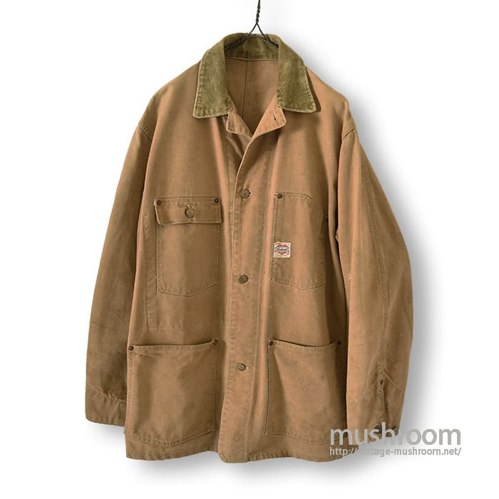 CARHARTT BROWN DUCK COVERALL