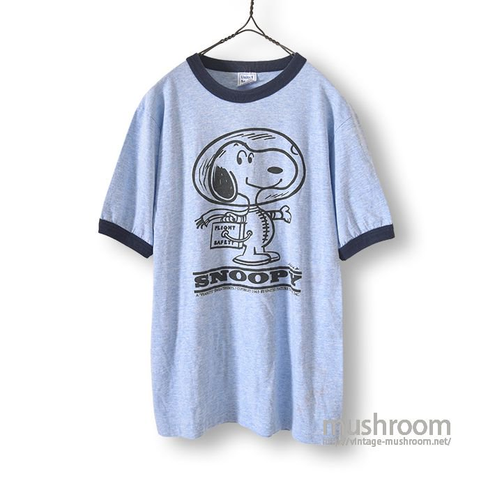 OLD SNOOPY RINGER T-SHIRT
