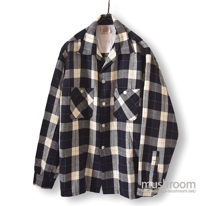 MONTEREY PLAID BOX WOOL SHIRT