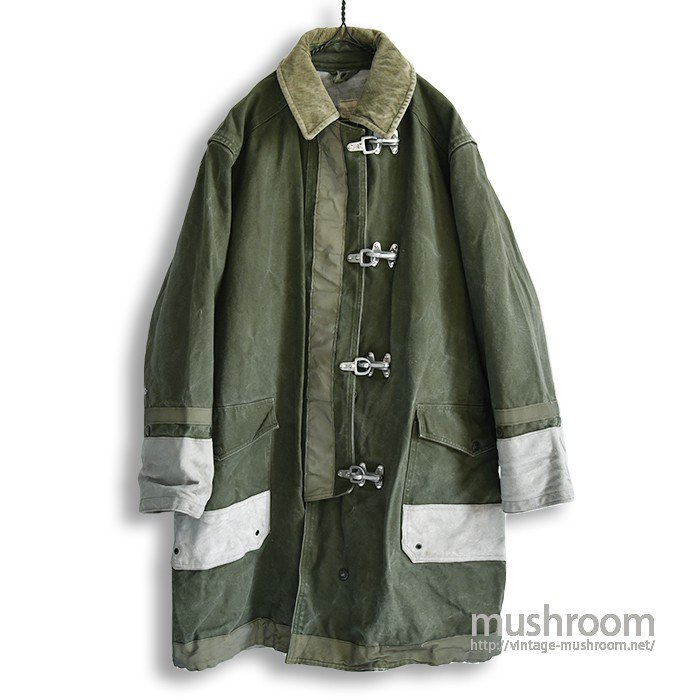 U.S.MILITARY FIREMAN'S JACKET WITH STENCIL