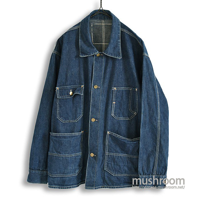 STANDARD OVERALL DENIM COVERALL